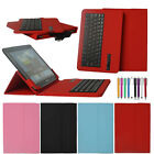 Detachable Bluetooth Keyboard Leather Case Cover For 9 10 10.1 inch Tablet PC
