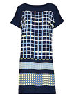 M&S hotchpotch check dress/tunic~Navy blue mix~8 10 12 14 16 18 20~In-store now