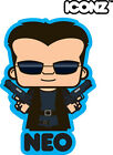 ICONZ CARTOON TEE SHIRT NEO MR ANDERSON THE MATRIX HACKER KEANU REEVES