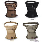 Free ship Drop Leg bag Motorcycle Dirt Bike Cycling Fanny/Thigh Pack Waist Belt