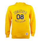 Infants Converse Pullover Graphic Lemon Chrome Hooded Top