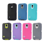 Heavy Duty Shockproof Dirtproof Defender Case Cover for Samsung Galaxy S5 I9600