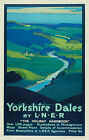 352 Vintage Railway Art Poster -  The Yorkshire Dales