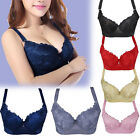 New Push Up Brassiere Enhancer Padded Underwire Bra Size 34 36 38 40 42 44 D