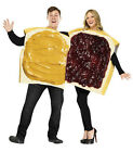 Peanut Butter  Jelly Sandwich Costume Couples Adult Pair Food Outfit Halloween