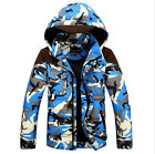Fashion Men's Camo Thicken Hooded Down Coats Hot Winter Ourwear Simple Coats