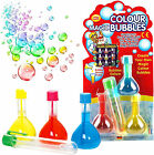 MAGIC RAINBOW BUBBLES BOYS GIRLS GIFT BUBBLE MIX TOY BIRTHDAY PARTY BAG FILLER