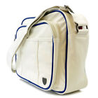 Mens Original Penguin White PU Record Bag
