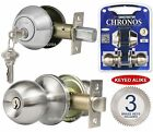 Constructor Chronos Entry Passage Privacy Dummy Knob Handle Door Lock Set SN