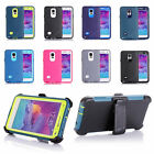 Defender Cases with built in screen protector Holster for Samsung Galaxy Note 4