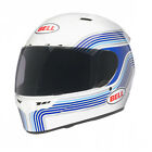 Bell Vortex Brand Graphic Full Face Motorcycle Helmet - White