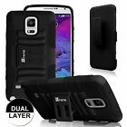 """Impact Holster Stand Belt Clip Case Cover for Samsung Galaxy Note 4 SM-N910 5.7"""""""