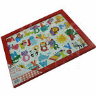 KIDS LAP TRAY ACTIVITY DESK SERVING PLATTERS DINNER PADDED SOFT CUSHIONED WOODEN