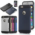For Apple iPhone 6 / 6s Rubber Hybrid Armor Impact Defender Hard Case Cover