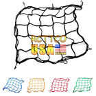 US Stock Motorcycle Parts 5 Color Rear Helmet Elastic Web Cargo Nets Mesh New