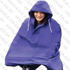 Cycling Rain Cape / Poncho (X-Large)