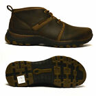 Mens Sketchers Memory Foam Leather Walking Work Ankle Chukka Boots Shoes Size