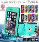 Waterproof Shockproof Dirt Snow Proof Redpepper Case Cover For iPhone 6 4.7