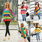 korean loose Batwing Dolman Sleeve Chiffon Shirt Bohemian Tops Oversized Blouse