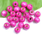 Wholesale 100pcs Wood Round Spacer Charms BEADS - Choose 6MM 8MM 10MM 12MM 14MM