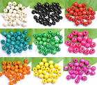 Kyпить Wholesale 100pcs Wood Round Spacer Charms BEADS - Choose 6MM 8MM 10MM 12MM 14MM на еВаy.соm