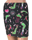 Liquor Brand Limbs Skirt Gothic Derby Zombie Alternative Bodycon Min Pin Up Punk