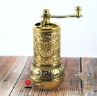 Turkish Pepper Salt Spice Coffee Grinder Pepper Mill 4.3'' + Bamboo Spoon Gift