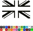 Union Jack Flag Sticker Home Wall Window Vinyl Car Removable Decal Laptop Helmet