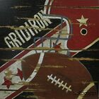 "LS952 Gridiron Spivey 12""x12"" framed or unframed art print football sports"
