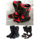 AMOI Men Motorbike Racing Gear Leather Adult Shoes Speed Boots Size US7-US12 NEW
