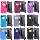For iPhone 6 (4.7 inch) With Belt Clip Holster Protective Defender Case Cover