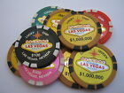 Las Vegas Casino Poker Chip Refrigerator Magnets
