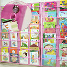 NEW Book Storage CD Holder Hanger Wall Pockets Chart Organizer Made in KOREA