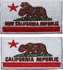 """Fallout New Vegas Mini NCR Flag Embroidered Patch Sew/Iron-on 2 Styles 2.5"""""""