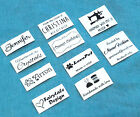 cloth name tags - 50x Custom iron on name tag clothing label garment school Personalized Tapes