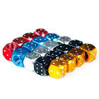 4 Real Dice Tire Air Valve Stem Caps - Car Truck Hotrod Ratrod ATV Rims DG