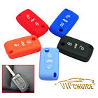 Key Case Cover Car Silicone Remote Fob Shell For Citroen C2 C3 C4 C5 C6 3 Button