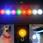 NEWLY COLORFUL PET DOG CAT PUPPY LED FLASHING COLLAR SAFETY NIGHT LIGHT PENDANTS