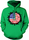 USA Soccer Ball Splash Dempsey Pride National Tournament Hoodie Pullover