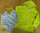 Juicy Couture designer baby girl swimsuit swim, cover-up set top 3-6, 18-24 NEW