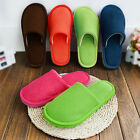 Womens Indoor Soft Shoes Mens Winter Warm Home Room Slippers Sz:37-45