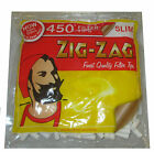 Zig Zag 450 Slim Filter Tips Cigarette Rolling Resealable Bag Smoking