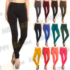 Women's Fleece Leggings Opaque Thick Footless Slim Fit Pants Winter Cozy