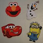 Olaf frozen, Lightning Mcqueen, Elmo or Minion (Minions) Iron on / sew on patch