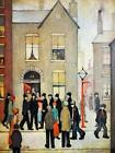 Lowry The Arrest Newton Stretched Canvas Multi Size Art Poster Print Painting