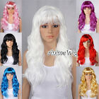 New Special 8 Colors Curly Design Women Anime Costume Fancy Hair Full Party Wig