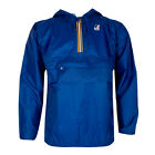 Mens K-Way Leon Classic Royal Blue Half Zip Jacket