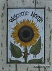 "LS1118 Welcome Home Sunflower Linda Spivey 9""x12"" framed or unframed print"