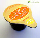 COFFEE COMPLIMENT 12ml LONG LIFE PORTIONS CREAMER MILK JIGGER POTS - TRACKED
