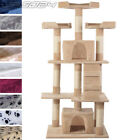 Cat Kitten Scratching Post Tree Sisal Climb Exercise Activity Centre Toy 156cm